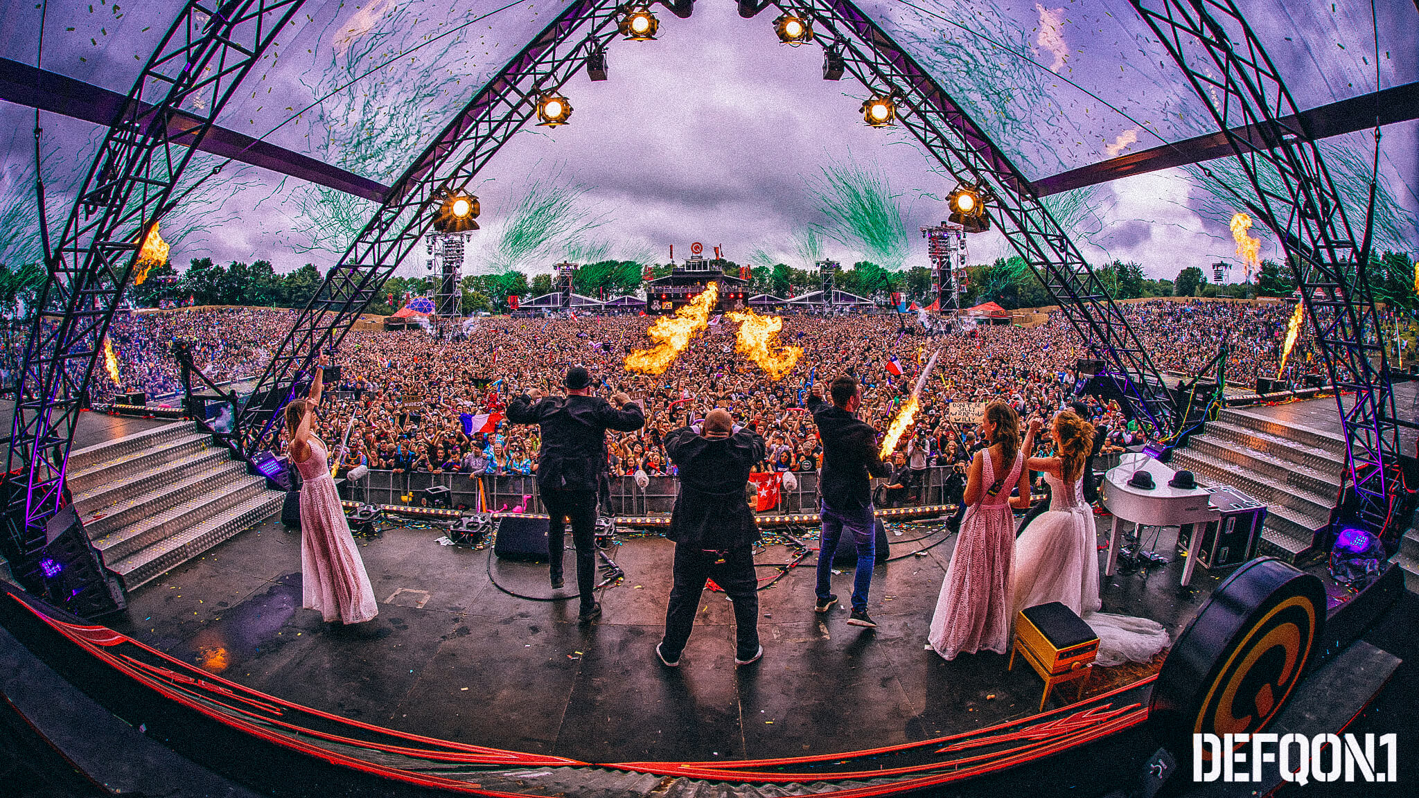 Peacock in Concert at Defqon 2018