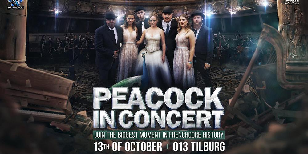 Peacock in Concert Poster